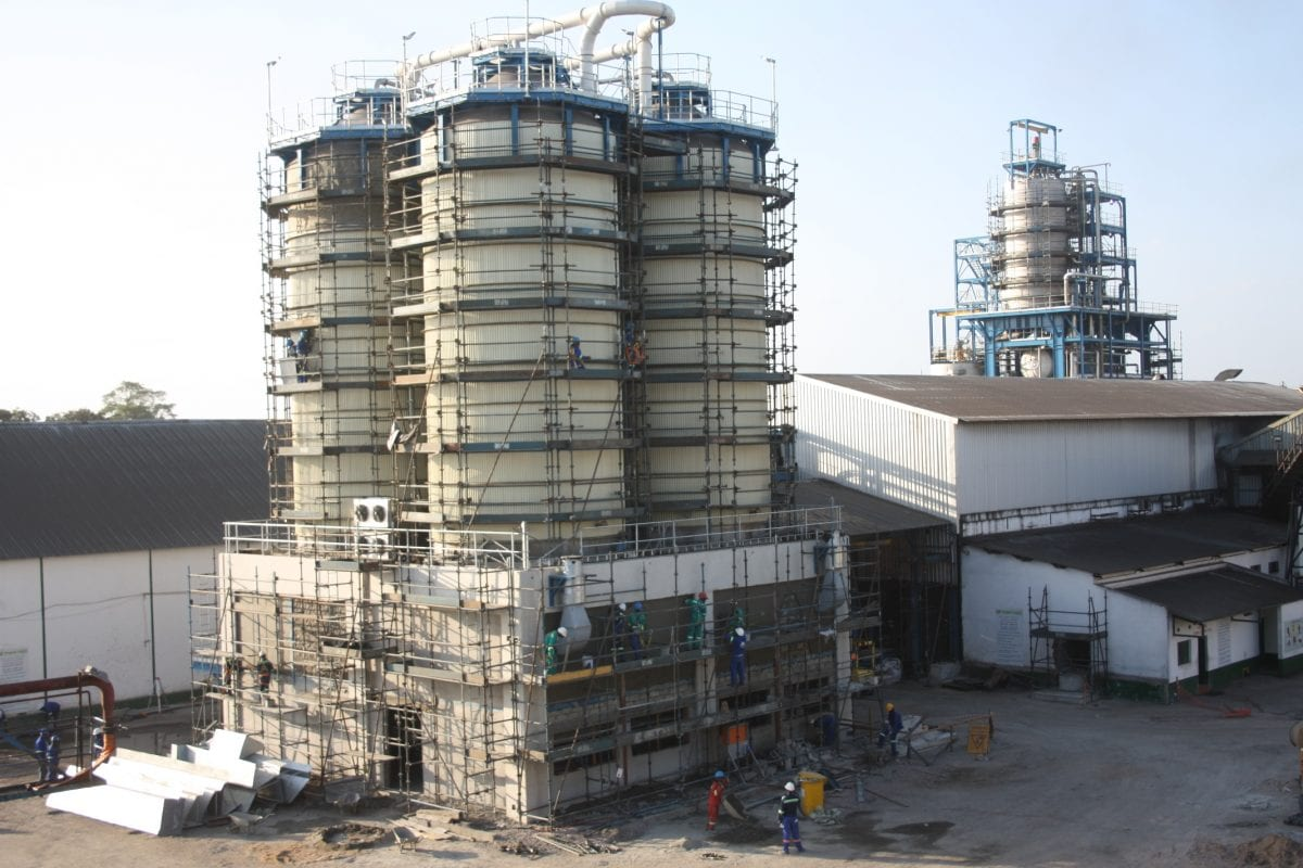 First sugar at Tongaat Hulett new refinery in Mozambique