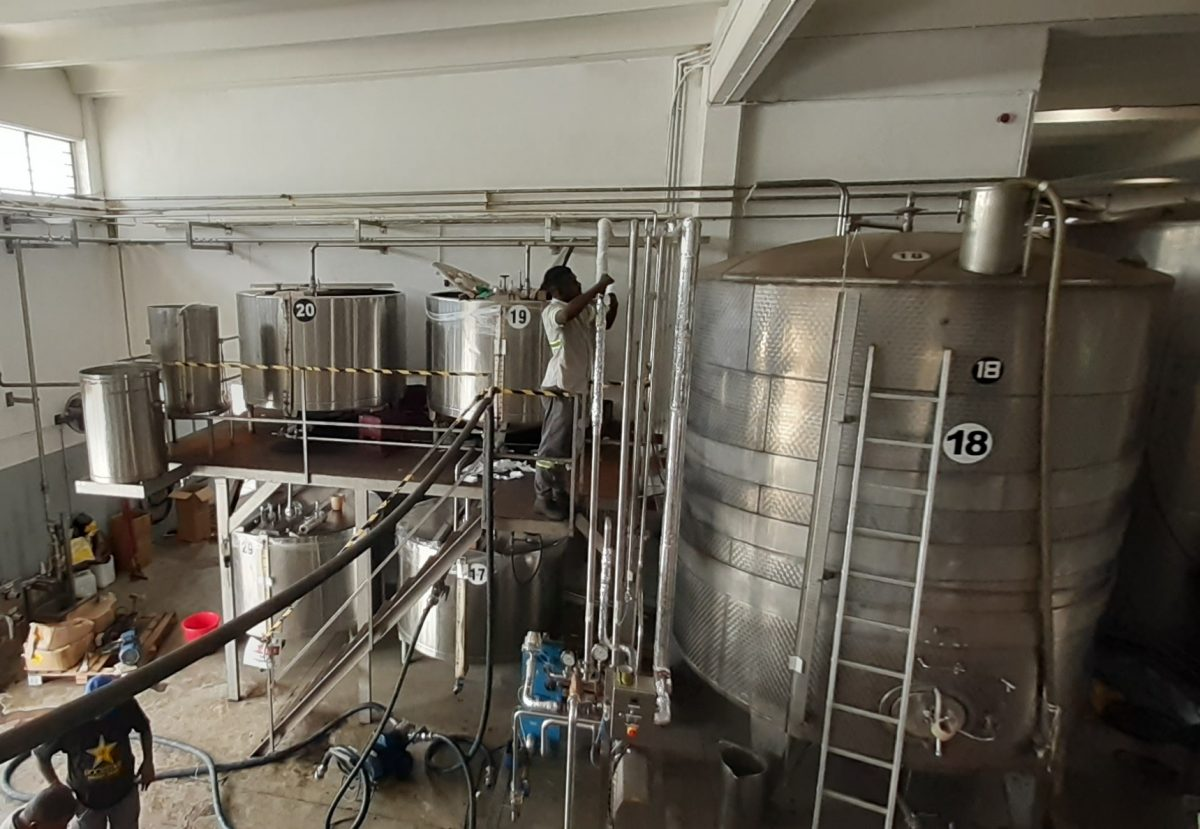 Grays Wine Blending Plant